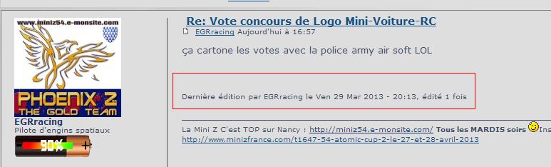 Vote concours de Logo Mini-Voiture-RC Sans_t10