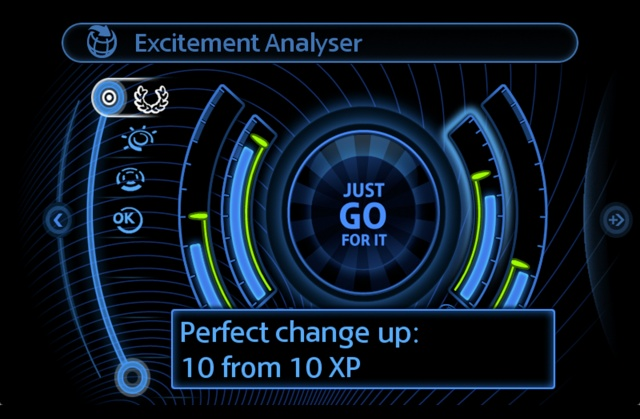 The new Driving Excitement Analyser from MINI Connected P9011511