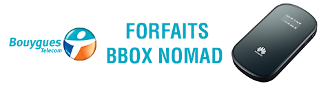Bbox Nomad: Cap sur la 4G et sur des grosses enveloppes DATA 13636211