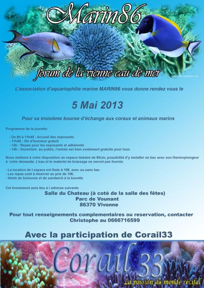 Bourse aux coraux et poissons marins Bourse10