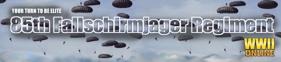The 85th Fallschirmjager Regiment Forums