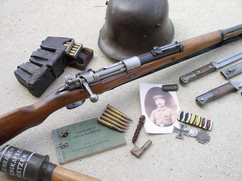 Besoin de votre aide : Mauser G98 de transition Copie_10