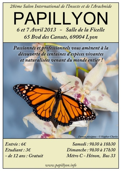 Bourse entomologique de Lyon Papily10