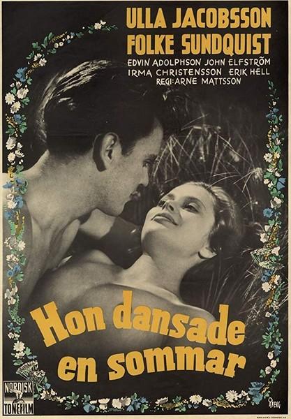 Elle n'a dansé qu'un seul été - Hon dansade en sommar - 1951 - Arne Mattsson Danszo10