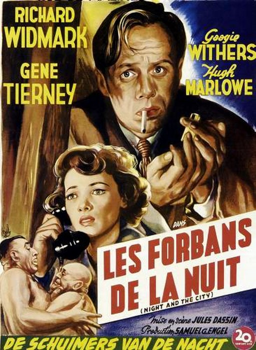 Les Forbans de la nuit. Night and the City. 1950. Jules Dassin. Les-fo10