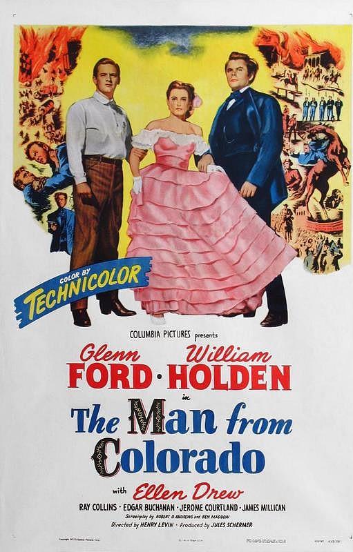 La Peine du Talion.  The Man from Colorado. 1948. Henry Levin. Man_co10