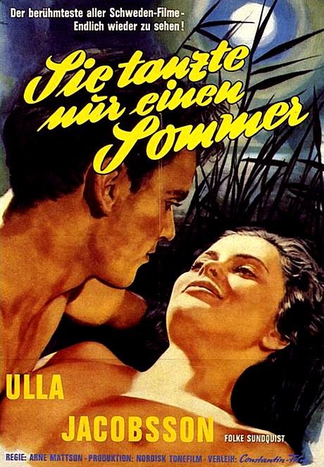Elle n'a dansé qu'un seul été - Hon dansade en sommar - 1951 - Arne Mattsson Origin10
