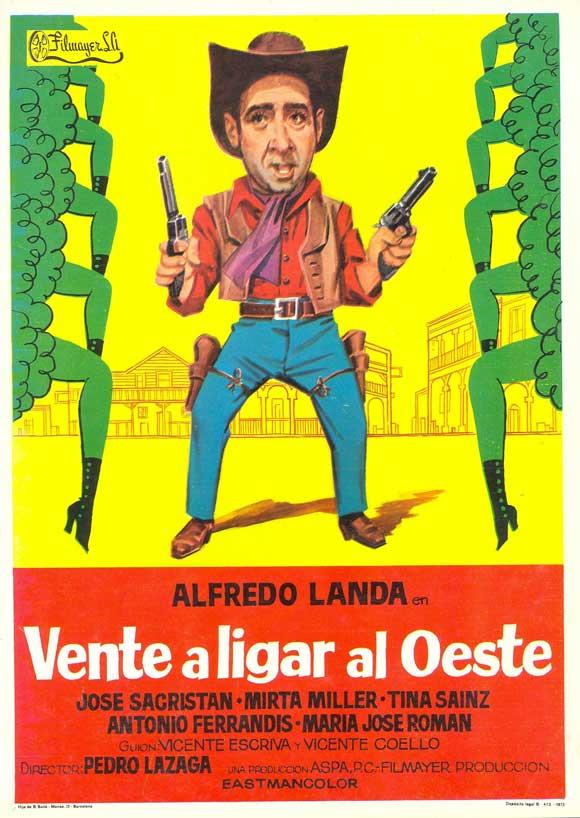 Vente a ligar al oeste - Pedro Lazaga - 1972 Vente_10