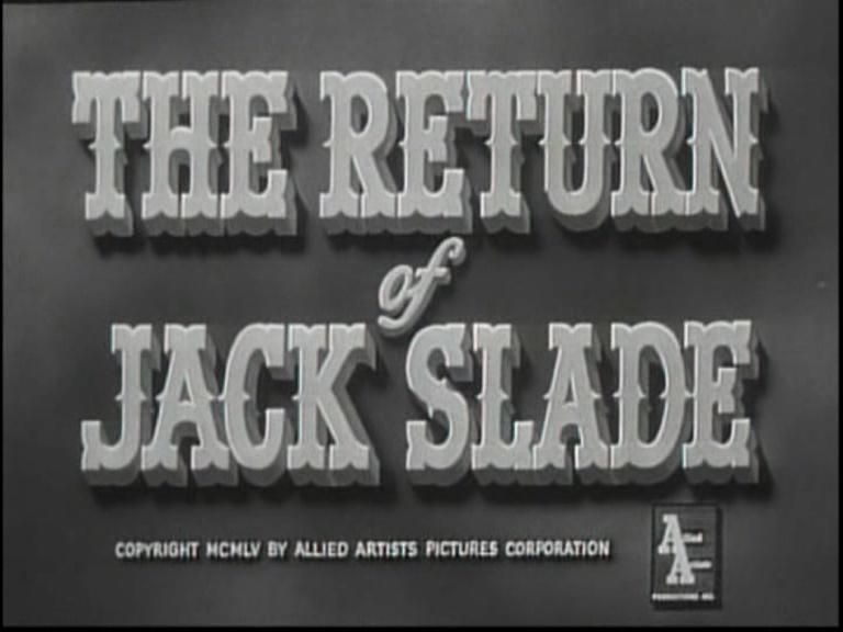 Jack Slade le damné - Jack Slade - 1953 - Harold Schuster Vlcsna12