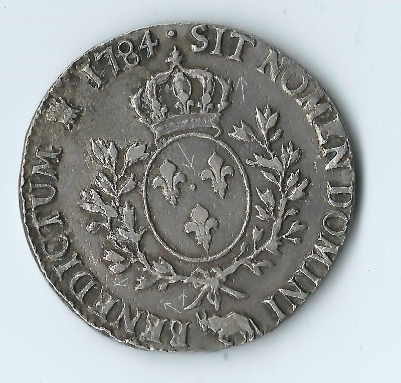 vrais ou faux écu Louis XVI  Loui1310