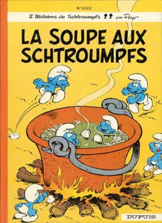 Les albums des Schtroumpfs  Scht1010