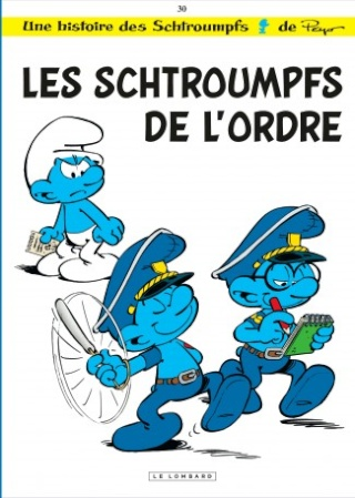 Les albums des Schtroumpfs  Scht3010