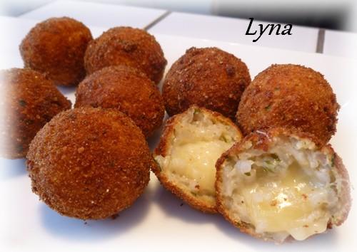 Arancinis (boules de risotto farçies au fromage) Aranci14