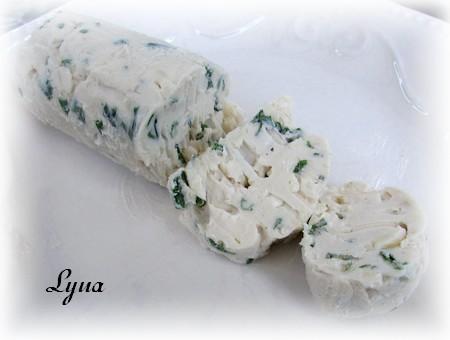 Beurre au parmesan et pâte d'anchois (pour viandes grillées) Beurre10