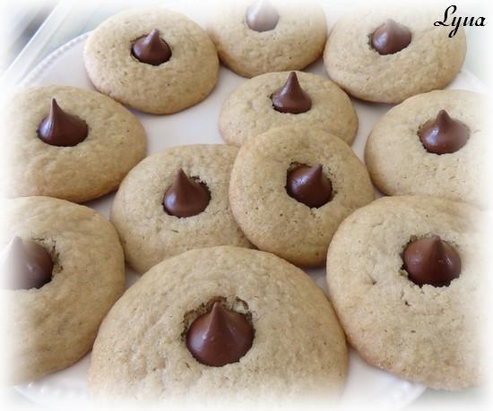 Biscuits au beurre d'arachide et kiss Biscui15