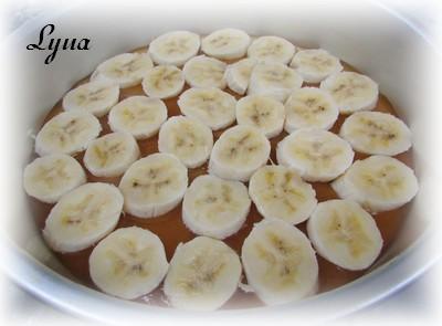Gâteau renversé aux bananes foster Carame11