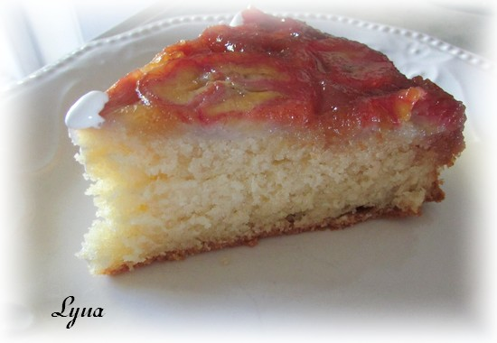 Gâteau renversé aux bananes foster Carame13