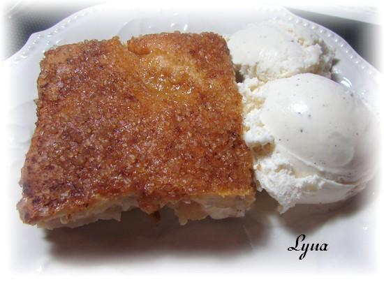 Dessert facile aux pommes et fromage à la crème Desser14