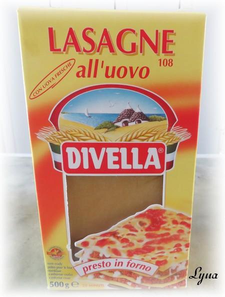 Lasagne aux épinards, édamames et fines herbes Divell10