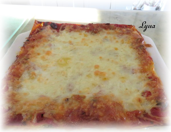 Lasagne aux épinards, édamames et fines herbes Lasagn14