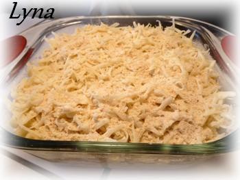 Macaroni au fromage avec lait évaporé Macaro10