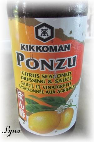 Salade de chou tiède à l'asiatique Ponzu10
