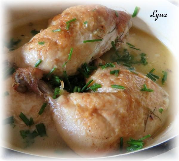 Cuisses de poulet braisées au four Poulet21
