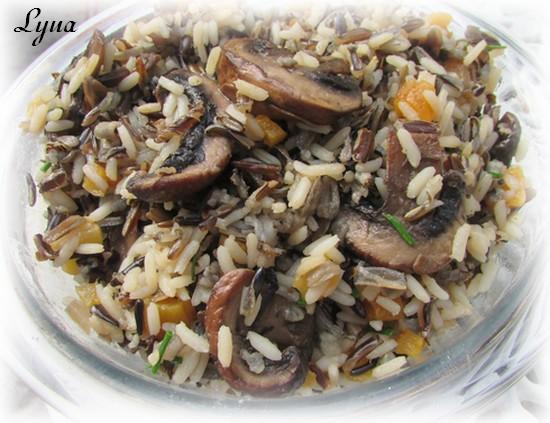 Riz sauvage aux champignons et abricots séchés Riz_ch10