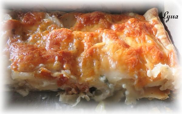 Feuilleté de pommes de terre aux 3 fromages Tarte_12