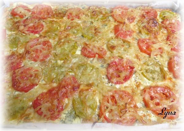 Tarte à la tomate et gruyère Tarte_15