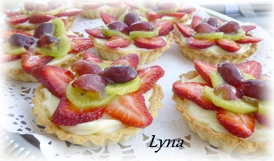 Tartelettes jardinière aux fruits Tartel14