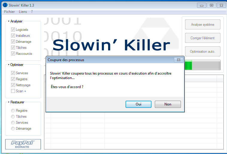 Slowin Killer : Optimisation de Windows Optimi11