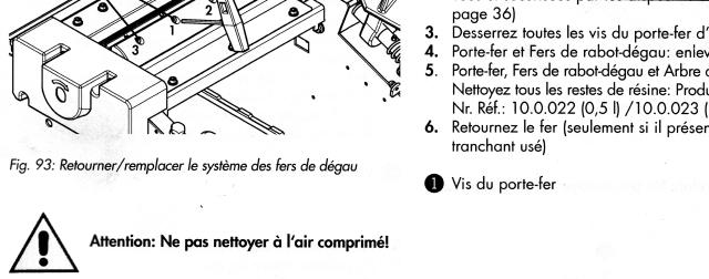 Nettoyer un arbre de dégau HAMMER à l'air comprimé Image110