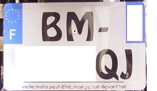 La BM à mamars Plaque10