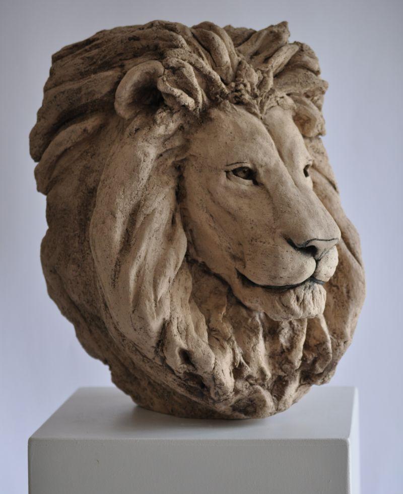 Têtes de lions Lion110