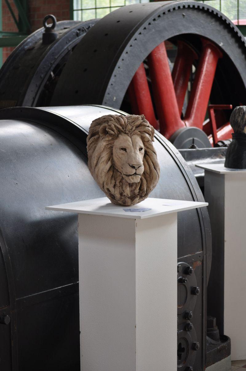 Têtes de lions Lion310