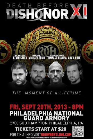 [Vidéo] ROH Death Before Dishonor XI du 20/09/2013 Dbdxi_10
