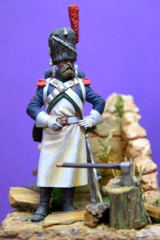 Sapeur des chasseurs de la Garde MM Sapeur10