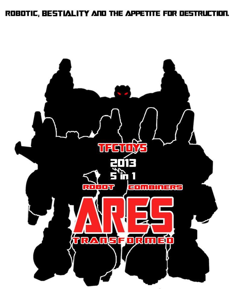 """[TFC Toys] Produit Tiers - Jouet """"Projet Ares"""" - aka Prédacons 22640310"""