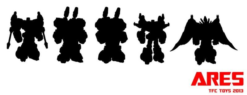 """[TFC Toys] Produit Tiers - Jouet """"Projet Ares"""" - aka Prédacons 89397310"""