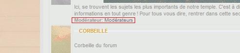 """Comment enlever """"les modérations"""" sur les descriptions de forum ? Screen12"""