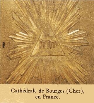 Los Hipocritas y mentirosos testigos de jehova acusan ala Iglesia Catolica de hacerse Imagenes pero sin embargo Ellos usan en su literatura SIMBOLOS MASONES Watcht11