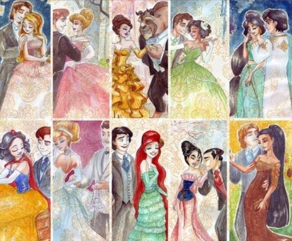 Les Disney Princesses (+ Elsa et Anna) [Topic Unique] Prince12