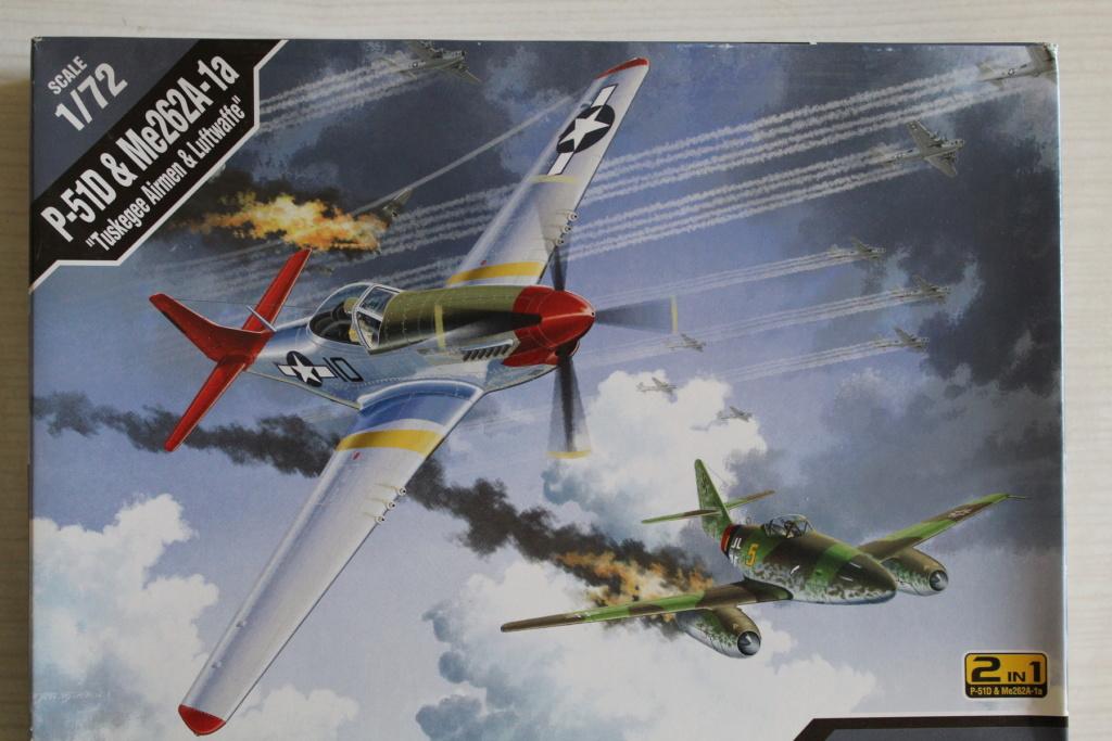 [ACADEMY] MESSERSCHMITT Me 262 + NORTH AMERICAN P-51 D combo 1/72ème Réf 12435 000_ac10