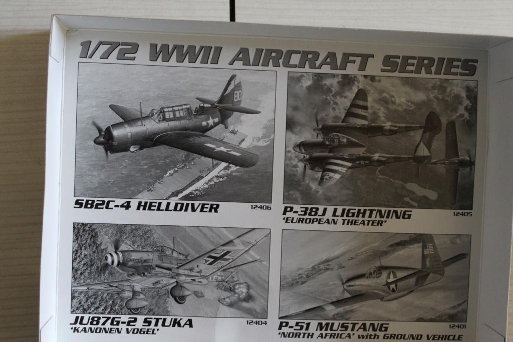 [ACADEMY] MESSERSCHMITT Me 262 + NORTH AMERICAN P-51 D combo 1/72ème Réf 12435 000_ac11