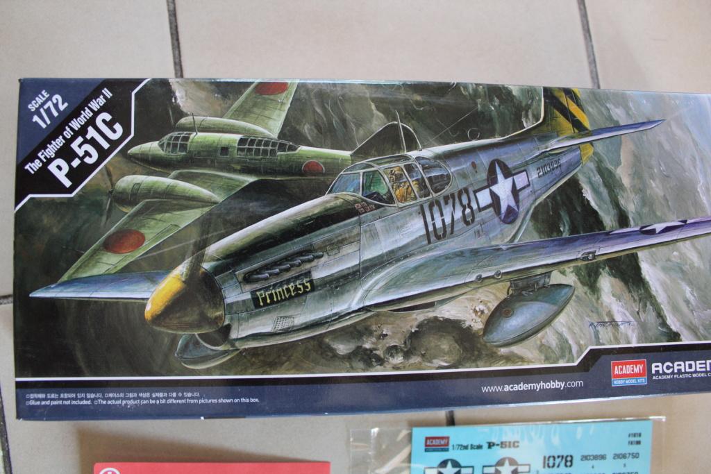 [ACADEMY] NORTH AMERICAN P-51 C 1/72ème Réf 12441 000_ac41