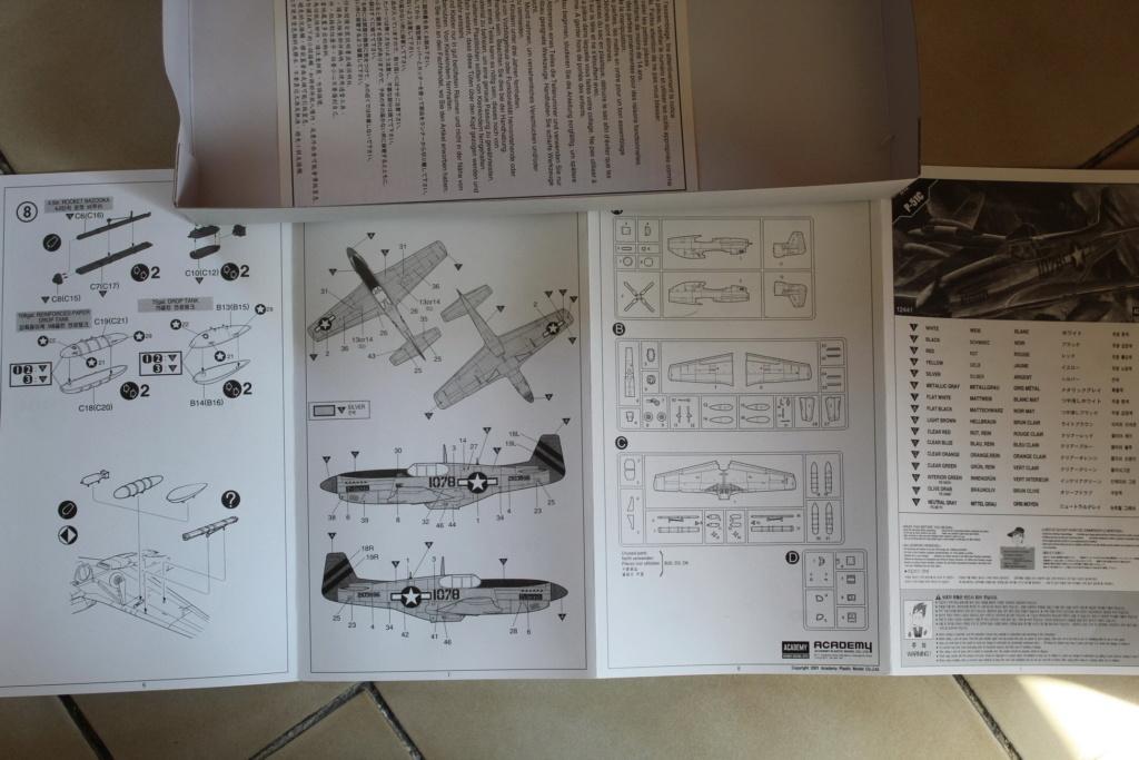 [ACADEMY] NORTH AMERICAN P-51 C 1/72ème Réf 12441 000_ac49