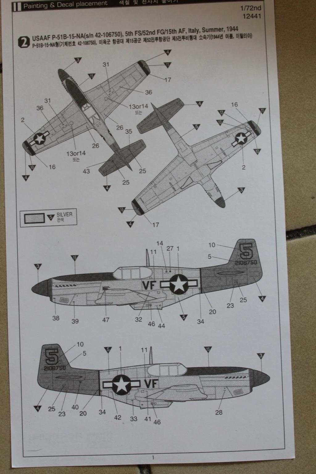 [ACADEMY] NORTH AMERICAN P-51 C 1/72ème Réf 12441 000_ac50