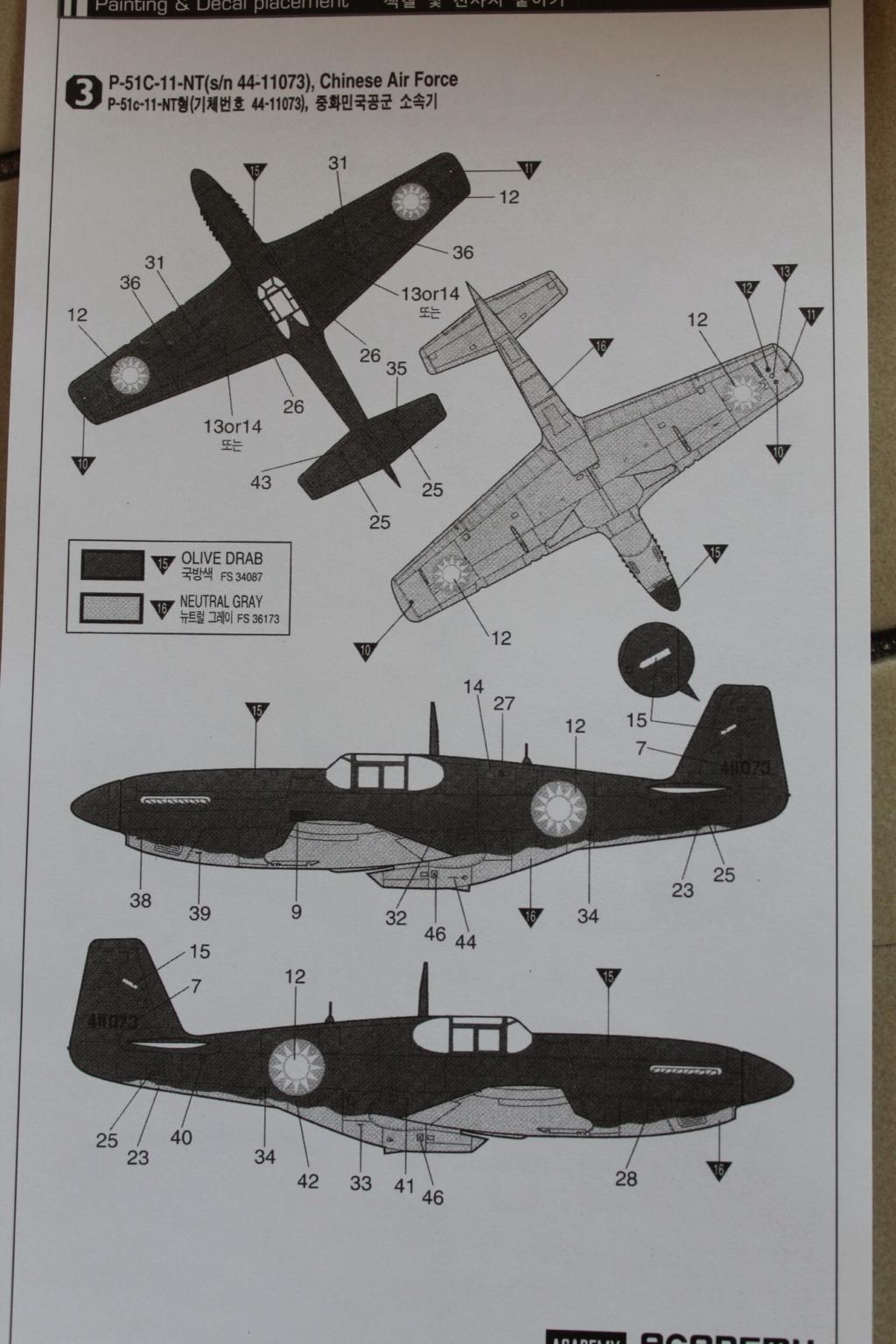 [ACADEMY] NORTH AMERICAN P-51 C 1/72ème Réf 12441 000_ac51