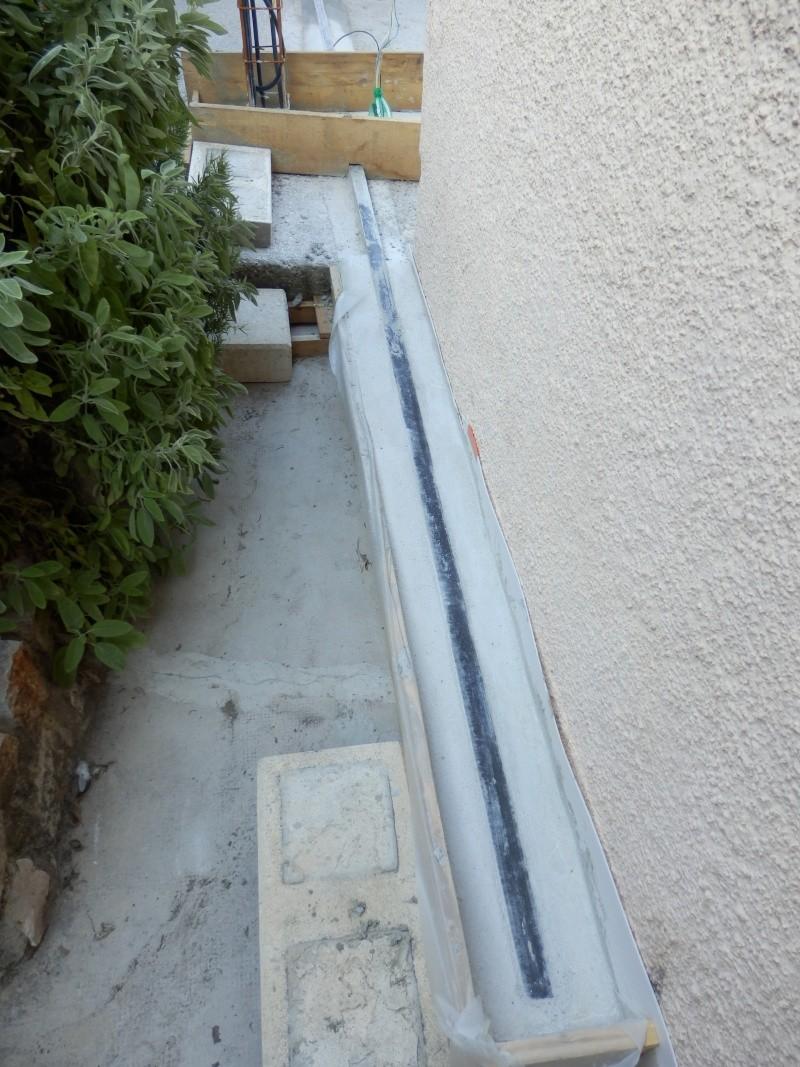 Avant mon portail coulissant.. le rail ! P8260311